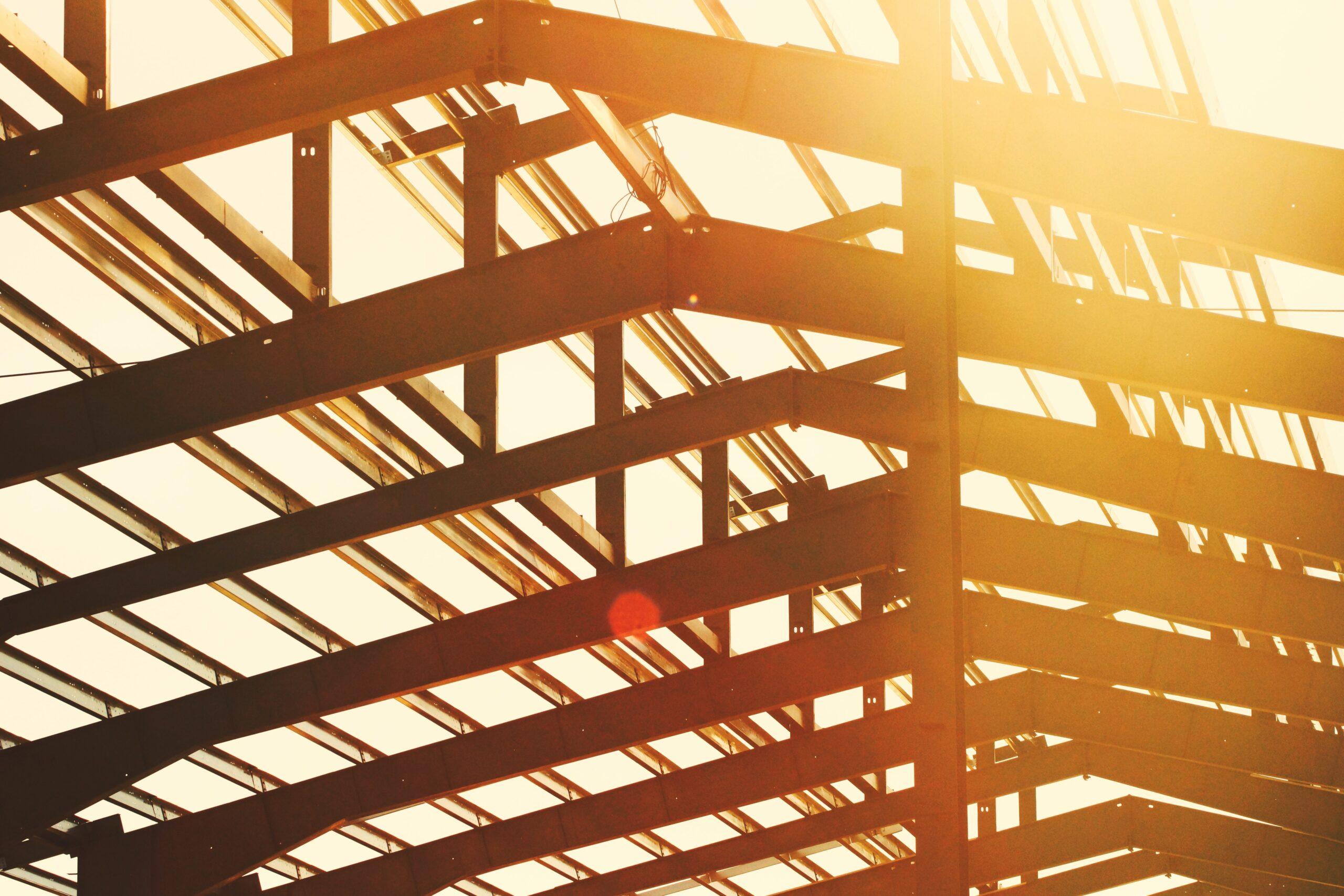 Metal Building Beams