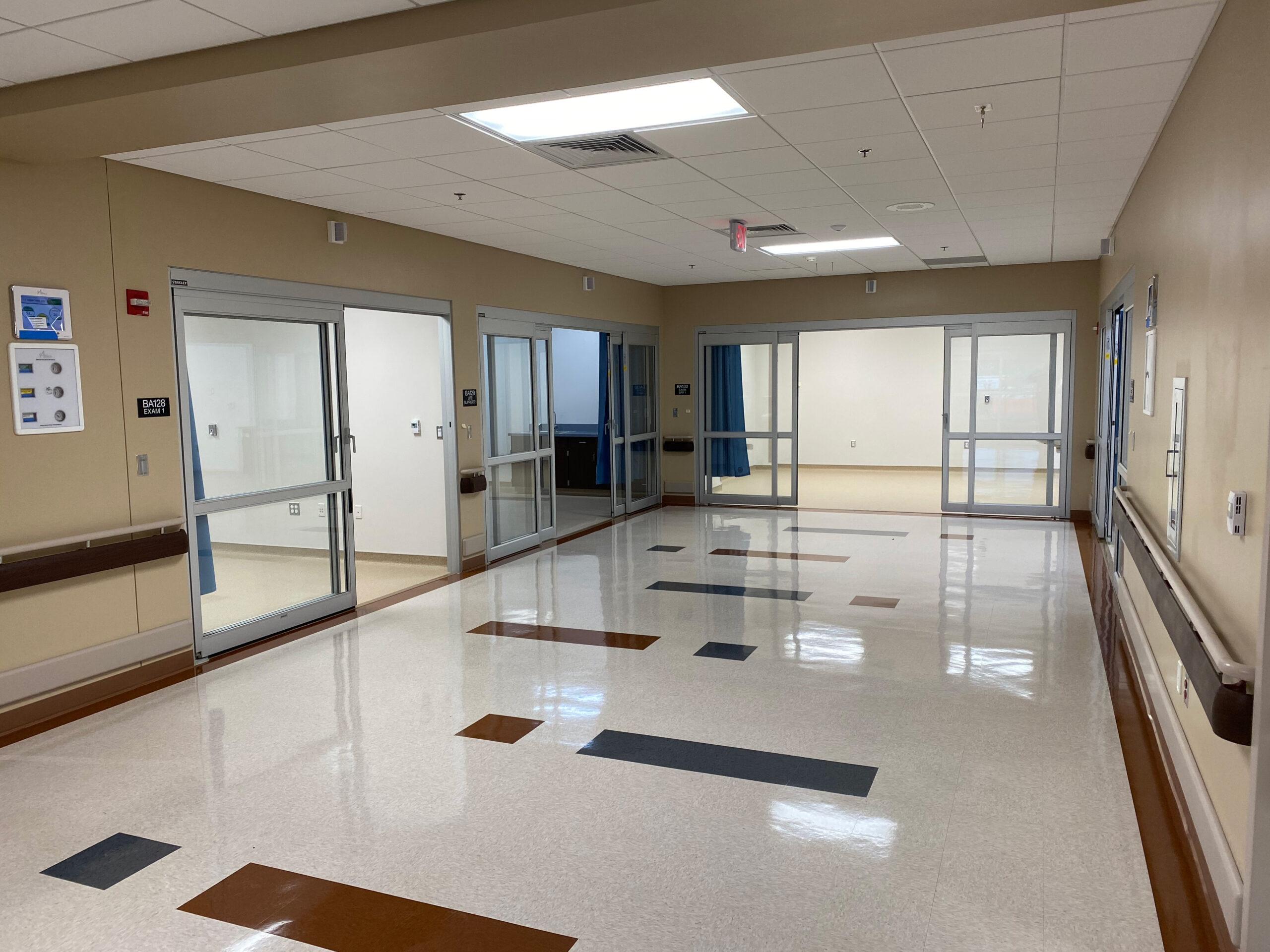 Kansas City VA Hallway