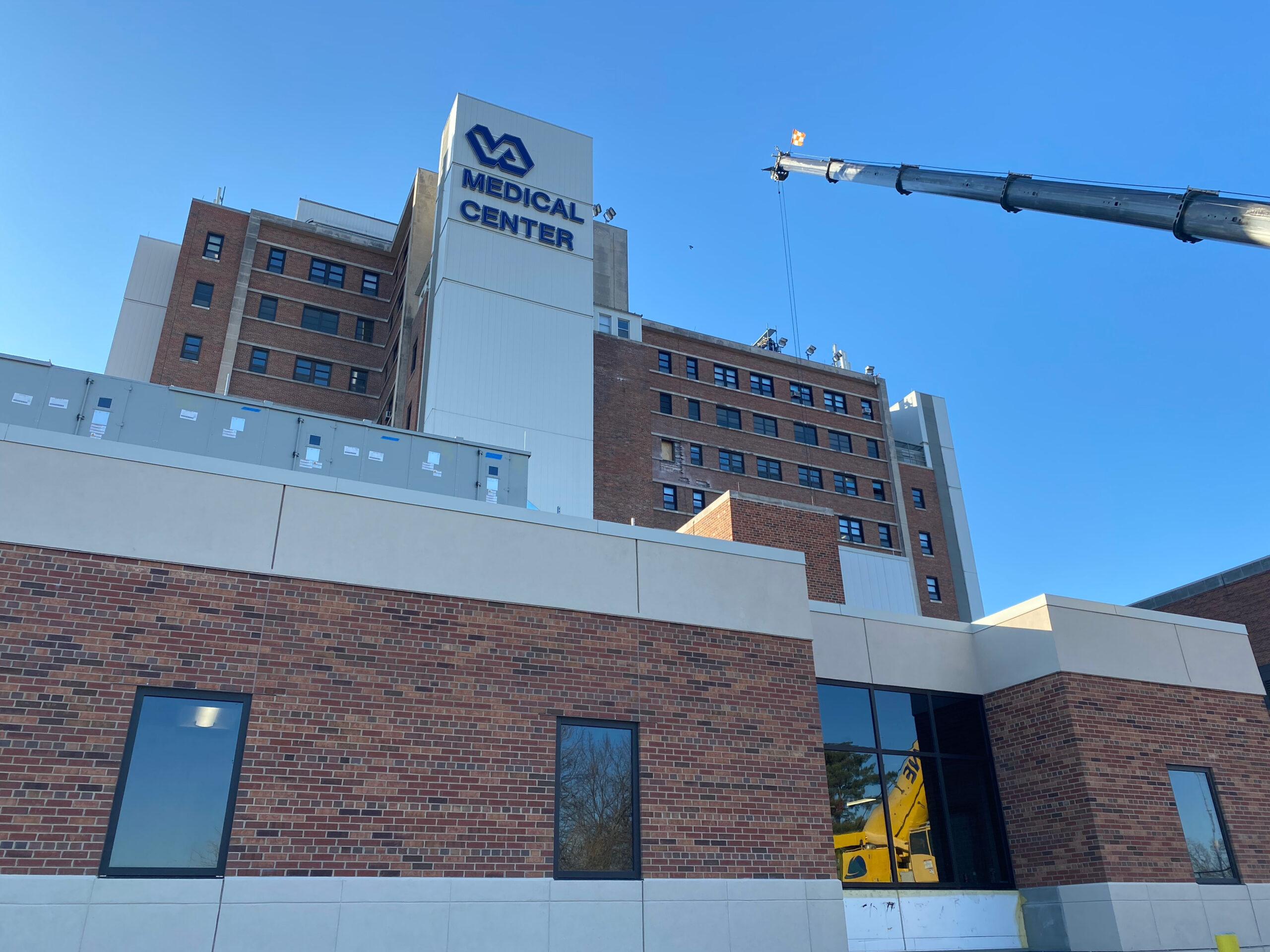 Kansas City VA Outdoor Building Medical Center