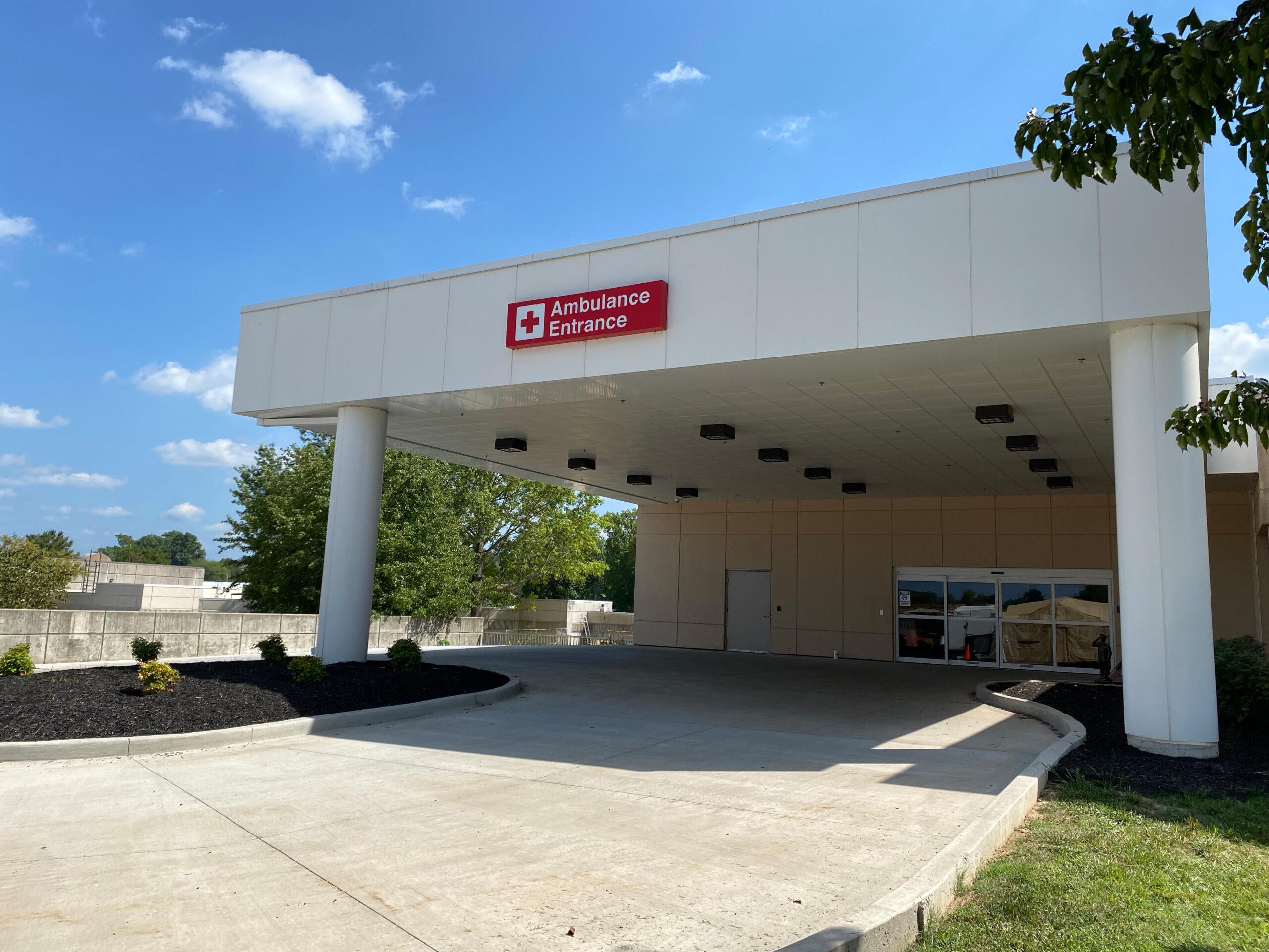 MO Project Outdoor Ambulance Entrance